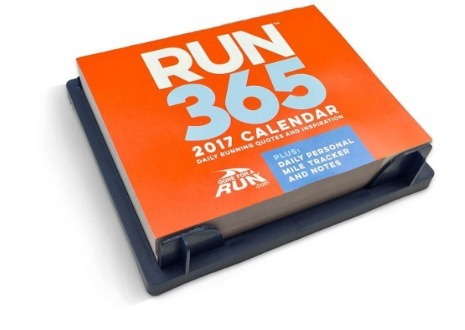 2017 Runner's Daily Desk Calendar