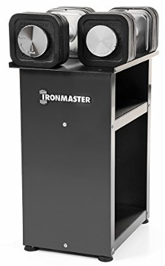 Ironmaster 75 lb Quick-Lock Adjustable Dumbbell System with Stand