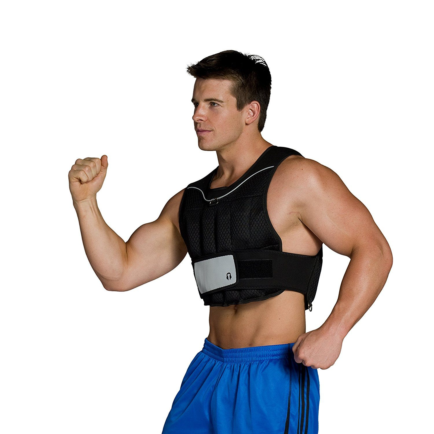 CAP Barbell Adjustable Weighted Vest, 20-Pound