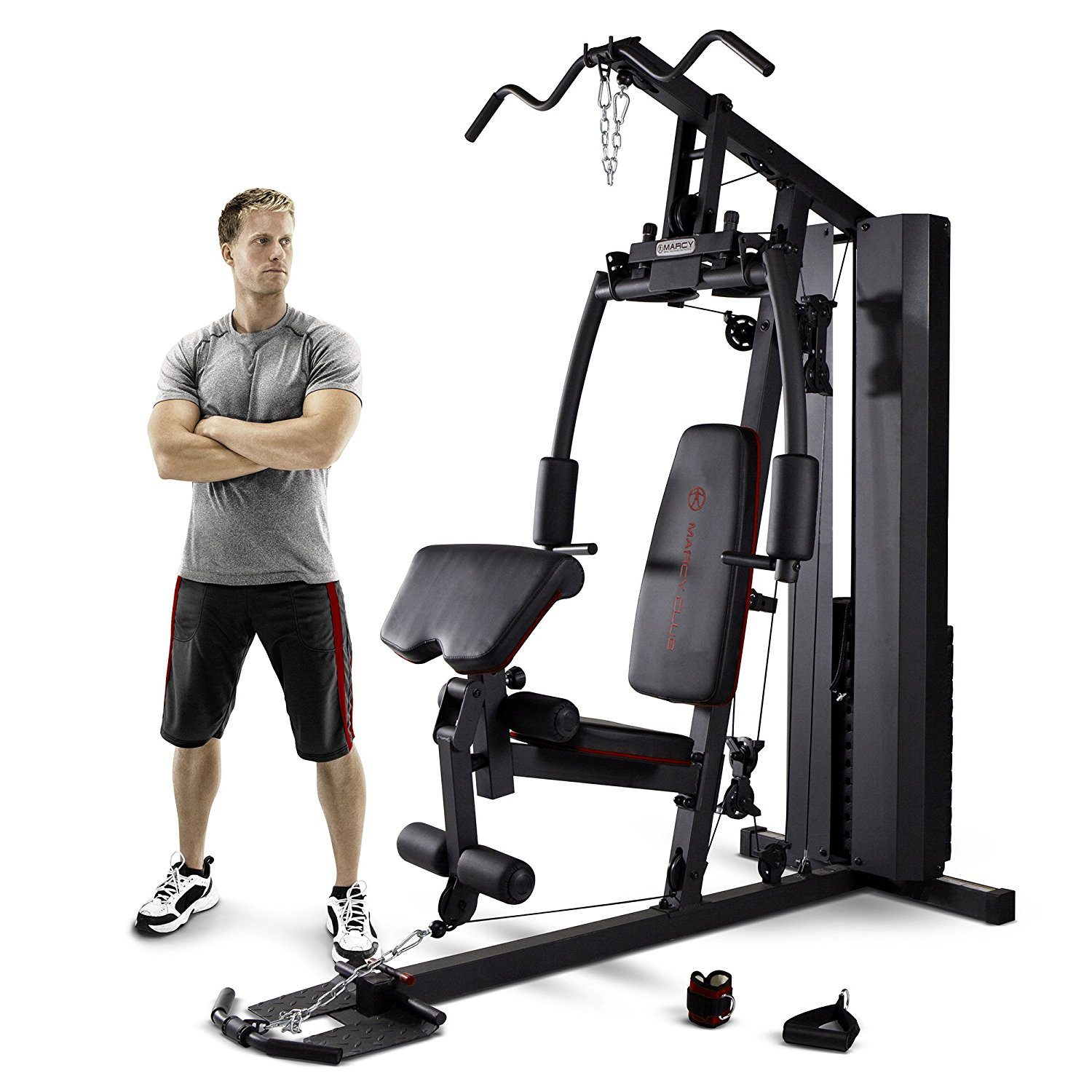Marcy MKM 81010 Stack Home Gym, 200 Lb